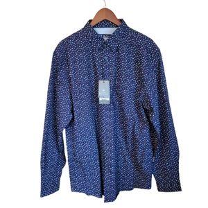 Men's Ben Sherman XXL Long sleeve dress shirt NWT